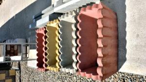 бетонный вазон