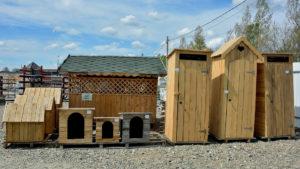 туалет деревянный купить в Белореченске